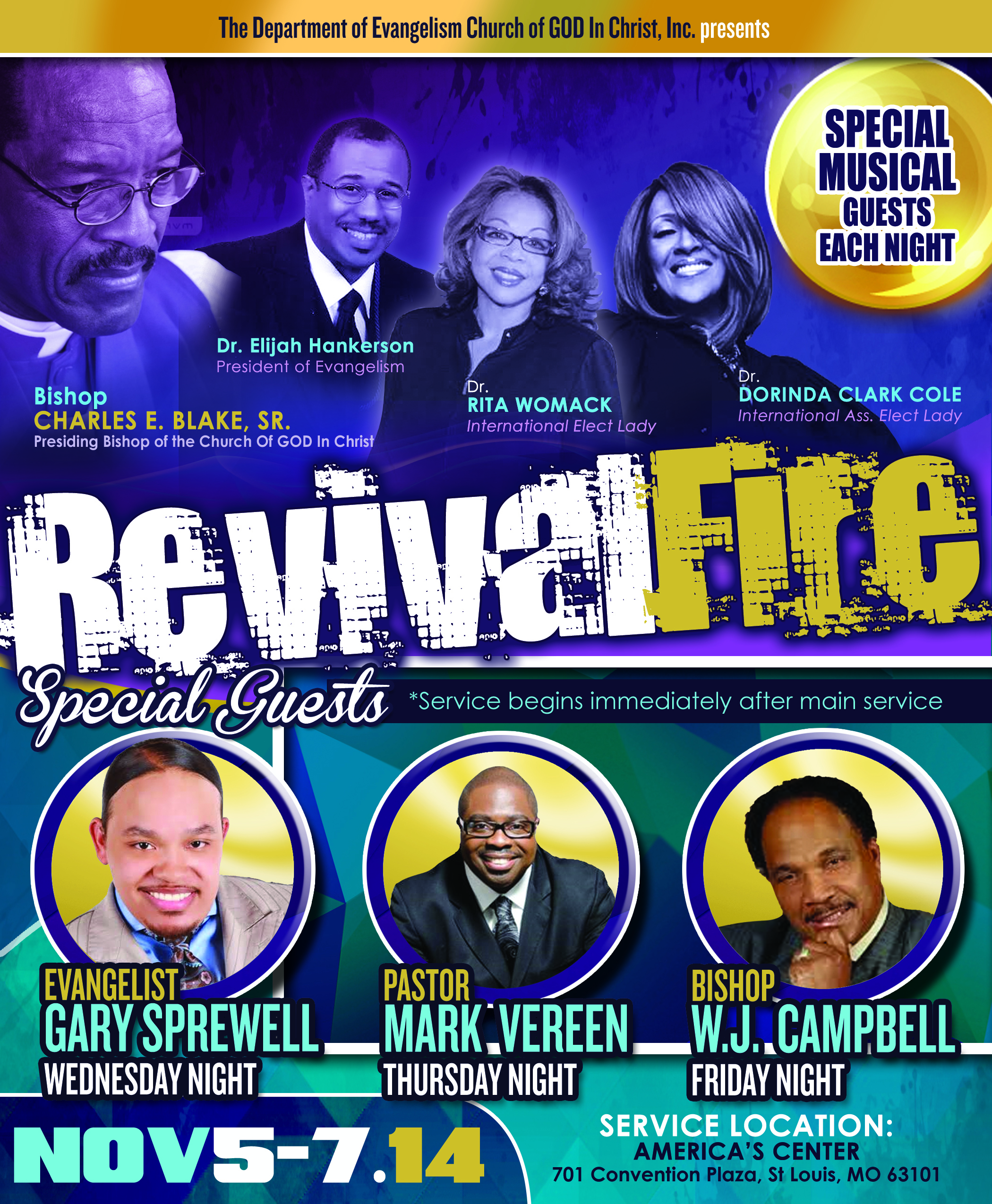 Revivel Fire flyer 2014